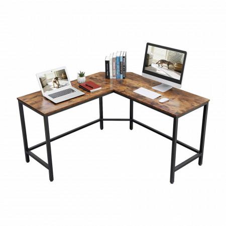 BII201 - Masa de Birou pe colt 135 cm, office industrial - Maro