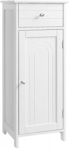 LOTUS2 - Dulap alb, 35 cm, comoda ingusta - Mobilier Baie Lotus