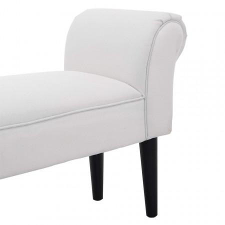 BAA106 - Divan, Canapea, fotoliu, sofa, bancheta, bancuta, banca living, dormitor, hol - Alba