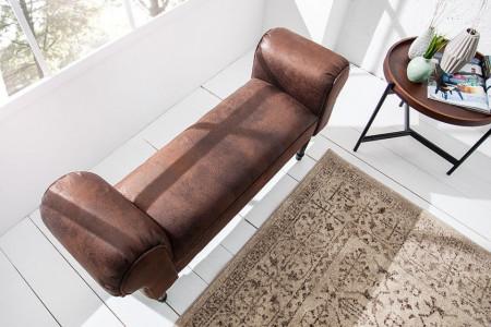 BAM208 - Divan, Canapea, fotoliu, sofa, bancheta, bancuta, banca living, dormitor, hol - Maro