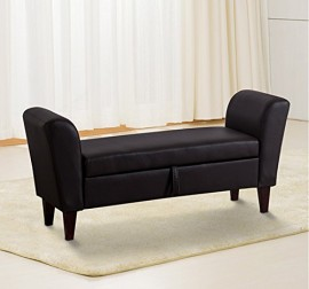 BAN105 - Divan, Canapea, fotoliu, sofa, bancheta, bancuta cu lada, banca living, dormitor, hol - Maro inchis