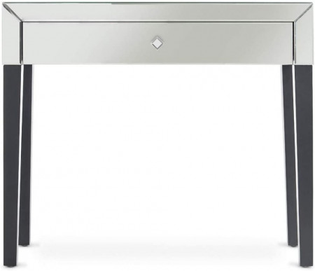 MAOG104 - Masa Argintie toaleta, 92 cm, cosmetica machiaj oglinda masuta