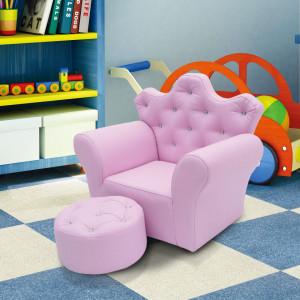 SCRC202 - Mini fotoliu, scaun, scaunel, divan Copii - Roz