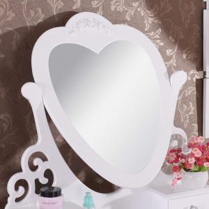 SEA118 - Set Masa alba toaleta cosmetica machiaj oglinda masuta