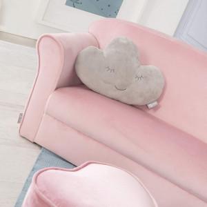 CARC1 - Mini canapea, 78 cm, divan Copii - Roz