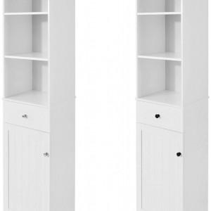 LOTUS7 - Dulap inalt alb, 40 cm - Mobilier Baie Lotus