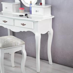 SEA15 - Set Masa alba toaleta cosmetica machiaj oglinda masuta vanity