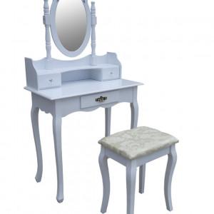 SEA326 - Set Masa Alba toaleta cosmetica machiaj oglinda masuta