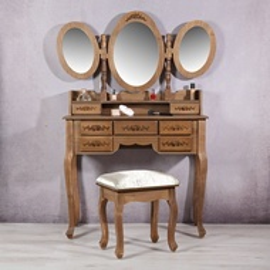 SEM4 - Set Masa maro toaleta cosmetica machiaj oglinda masuta vanity