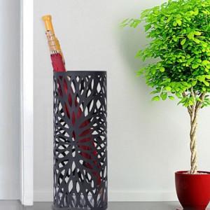 SUN201 - Suport depozitare umbrela, baston pentru hol, metal - Negru