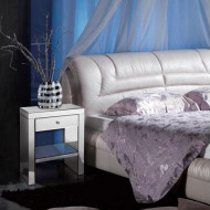 NOOG116 - Noptiera oglinda dormitor cu 1 sertar