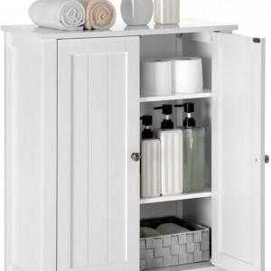 LOTUS3 - Dulap alb, 60 cm, comoda pentru prosoape - Mobilier Baie Lotus