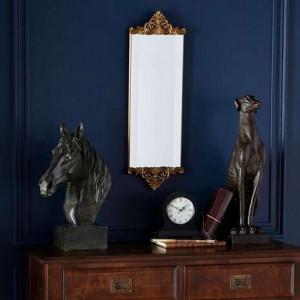 OGAU102 - Oglinda perete ornamentala dormitor sau living - Aurie