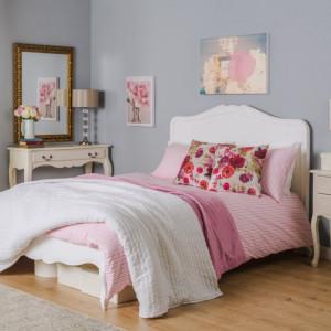 PAA104 - Pat alb dormitor, diverse marimi