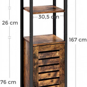 RAI3 - Rafturi birou industriale 37 cm - Maro