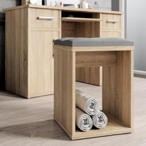 SCA502 - Scaun drept masuta toaleta machiaj cosmetica - Alb/Maro