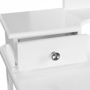 SEA329 - Set Masa alba toaleta cosmetica machiaj oglinda masuta vanity