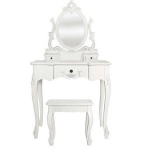 SEA62 - Set Masa alba toaleta cosmetica machiaj oglinda masuta