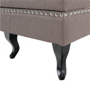 DIVM601 - Divan, Canapea, sofa, bancheta living cu lada - Maro
