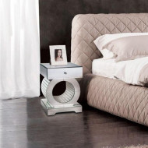 NOOG117 - Noptiera oglinda dormitor cu 1 sertar