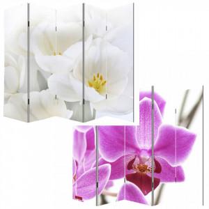 PAR1 - Paravan despartitor imprimat - ambele parti, gama Orhidee