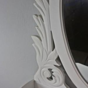 SEA39 - Set Masa alba toaleta cosmetica machiaj oglinda masuta vanity