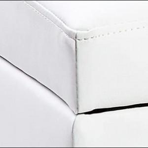BAA15 - Bancuta 119 cm, canapea, sofa, bancheta, banca living, dormitor, hol, lada, ladita depozitare - Alb