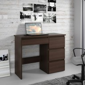 BIA504 - Masa de Birou 94 cm, office - Alb, Wenge, Sonoma sau Stejar