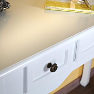 MAA12 - Masa alba toaleta cosmetica machiaj cu masuta vanity