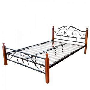 PAM203 - Pat maro - negru dormitor, 140, 160 si 180 x 200 cm