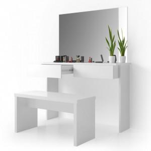 SEA331 - Set Masa alba toaleta moderna cosmetica machiaj oglinda masuta vanity