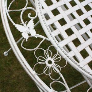 SEGA105 - Set Masa si scaune gradina, terasa, balcon - Alb antichizat