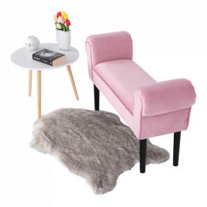 BAN602 - Bancuta 100 cm, bancheta, banca living, dormitor, hol - Roz