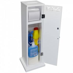 FIO106 - Suport hartie igienica, dulap masca - Mobilier Baie Fiore