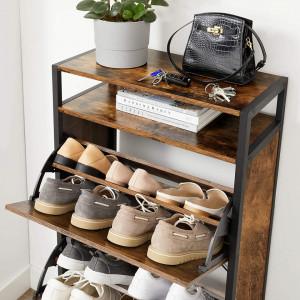 PANI201 - Pantofar industrial 60 cm, pantofare pantofi - Maro