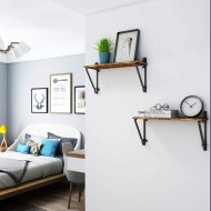 RAI204 - Rafturi industriale pentru birou, living, dormitor, bucatarie - Maro