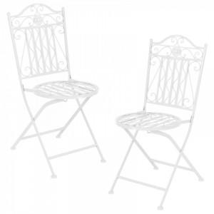 SEGA2 - Set Masa si scaune gradina, terasa, balcon, veranda - Alb