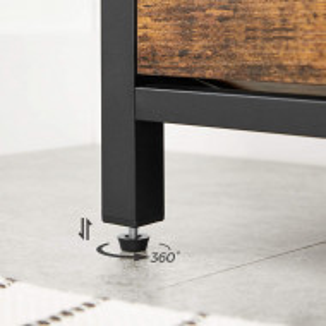 BAI4 - Bancuta tapitata 80 cm, pentru hol sau living, pantofar, bancuta depozitare - Maro