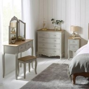 COG104 - Comoda, Dulap pentru Dormitor cu 5 sertare - Gri