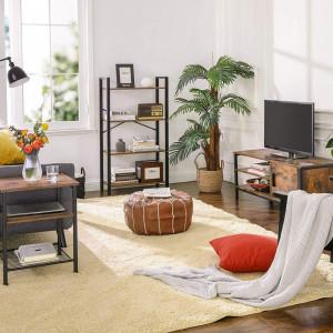 COTVI201 - Comoda TV 110 cm, living industrial - Maro