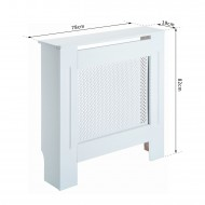 MDCA201 - Masca de calorifer, protectie radiator alba