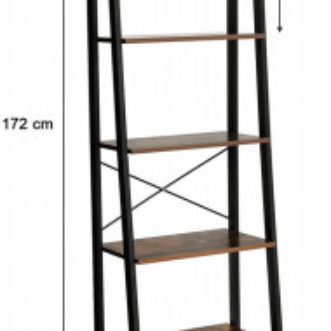 RAI2 - Rafturi birou industriale 56 cm - Maro
