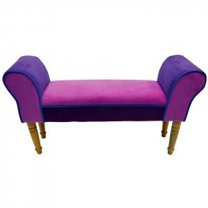 BAM103 - Divan, Canapea, fotoliu, sofa, bancheta, bancuta, banca living, dormitor, hol, Roz-Mov