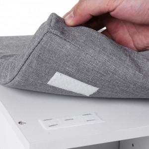 BAA104 - Banca, suport pantofi pentru Hol - Alba