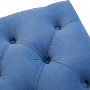 BAAL202 - Bancuta 118 cm, Canapea, sofa, bancheta, banca living, dormitor, hol - Albastru