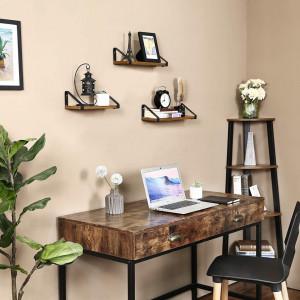 RAI203 - Rafturi industriale pentru birou, living, dormitor - Maro