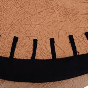 SCAMC201 - Scaun, fotoliu copii - tapitat maro