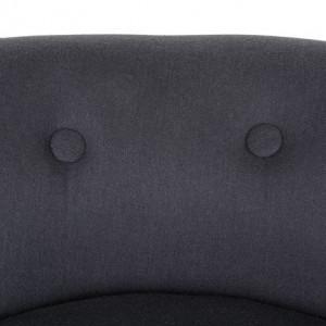 SCC2 - Scaun masuta toaleta machiaj cosmetica, fotoliu, scaunel, divan - tapitat gri