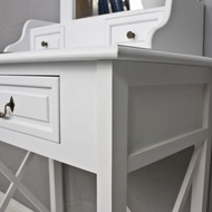 SEA37 - Set Masa alba toaleta cosmetica machiaj oglinda masuta vanity