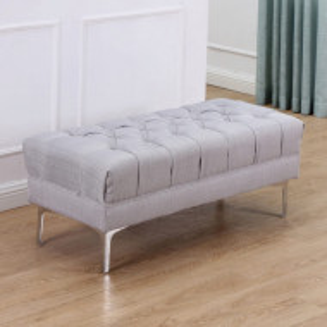 BAG208 - Bancuta 108 cm, Canapea, fotoliu, sofa, bancheta, banca living, dormitor, hol, lada, ladita depozitare - Gri